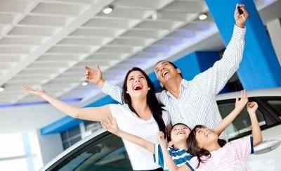 Радостная семья (о материнском капитале и покупке авто)
