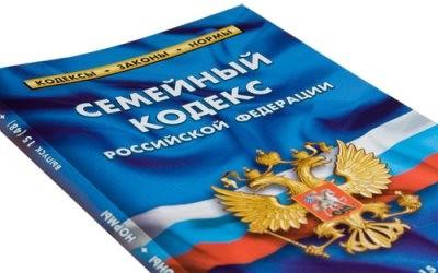 Семейный кодекс РФ (к статье об алиментах бывшим супругам)