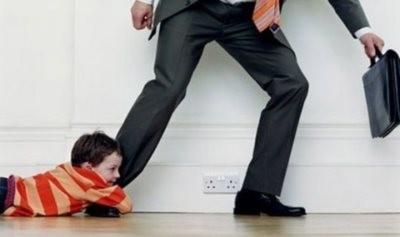 Убегающий отец  (к статье о алиментах с неработающих)